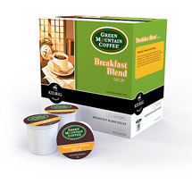 Green Mountain Coffee Breakfast Blend Decaf Coffee K-Cups