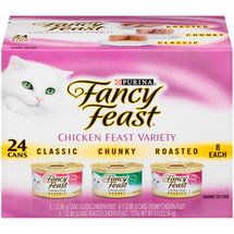 Fancy Feast Wet Cat Food Chicken Feast Variety Pack of 24
