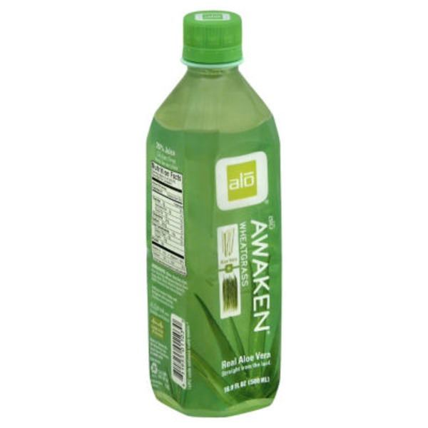 Alo Juice Awaken Wheatgrass