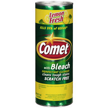 Comet Lemon Fresh Disinfectant Cleanser With Bleach