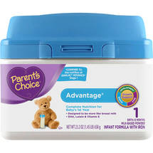 Parent's Choice Advantage Powder Infant Formula with Iron