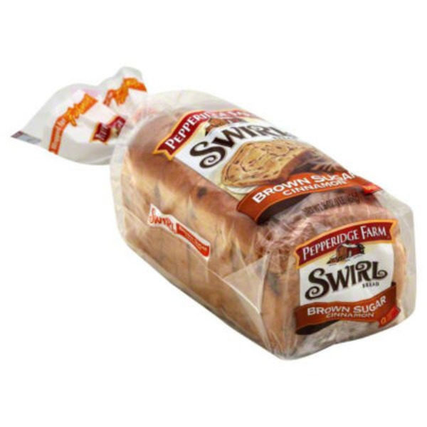 Pepperidge Farm Fresh Bakery Swirl Thick Slice Brown Sugar Cinnamon Bread