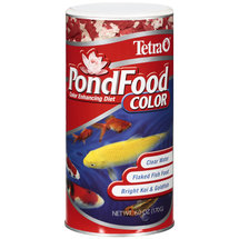 Tetra Pondfood Color Enhancing Diet Flaked Fish Food