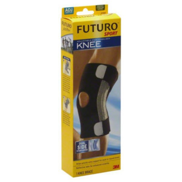 Futuro Sport Sport Adjustable Knee Stabilizer 47550EN, Adjustable, Moisture Control, Dual Side Staibilizer