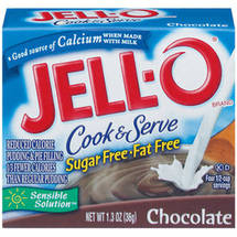Jell-O Sugar Free & Fat Free Chocolate Cook & Serve Pudding & Pie Filling