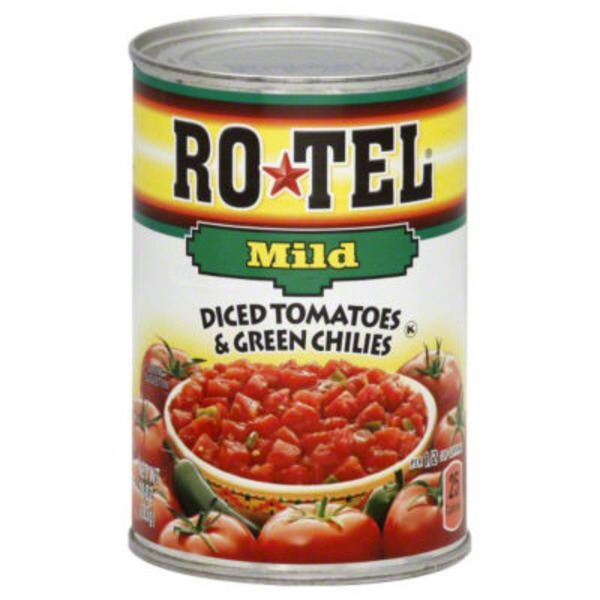 Ro*Tel Mild Diced Tomatoes & Green Chilies