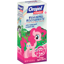 Orajel My Little Pony Toddler Training Toothpaste