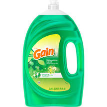 Gain Original Scent Dishwashing Liquid