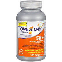 One A Day Woman's 50 Healthy Advantage Multivitamin/Multimineral Supplement