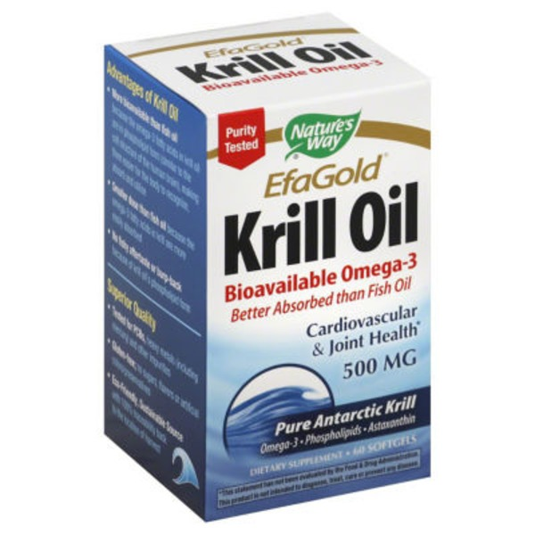 Nature's Way Krill Oil 500 Mg