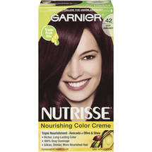 Garnier Nutrisse Haircolor 42 Deep Burgundy Black Cherry