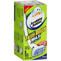 Scrubbing Bubbles Refills For Heavy Duty Pad Fresh Brush Max Toilet Cleaning System