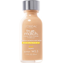 L'Oreal Paris True Match Super-Blendable Makeup Suntan W5.5