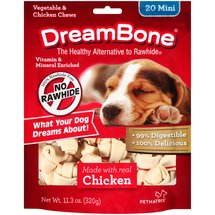 DreamBone Vegetable and Chicken Mini Dog Chews