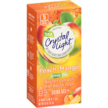 Crystal Light On The Go Metabolism+ Green Tea With Peach & Mango Drink Mix