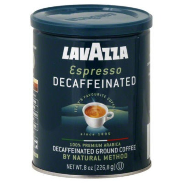 LavAzza Coffee, Ground, Decaffeinated, Espresso, Medium