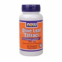 Now Olive Leaf Extract 50 mg