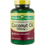 Spring Valley Coconut Oil Dietary Supplement
