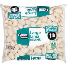 Great Value Large Dried Lima Beans