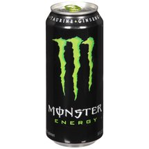 Monster Energy L-Carnitine + Taurine + Ginseng + B Vitamins Energy Supplement Drink 16 Fl Oz