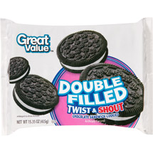 Great Value Twist & Shout Chocolate Sandwich Cookies