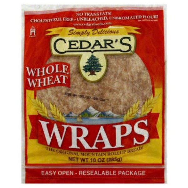 Cedar Wraps Whole Wheat