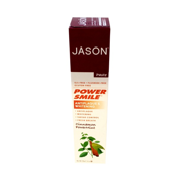 Jason Power Smile Antiplaque & Whitening Toothpaste Cinnamon Powermint