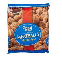 Great Value Fully Cooked Homestyle Meatballs