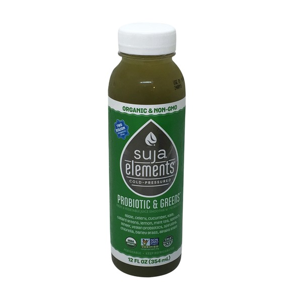 Suja Organic Probiotic & Greens Cold Press Juice Smoothie