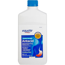 Equate Regular Strength Liquid Cooling Mint Antacid/Anti Gas