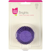 Cake Mate Brights Mini Cupcake Liners