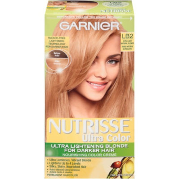 Nutrisse® Ultra Color Nourishing Color Creme LB2 Ultra Light Natural Blonde Haircolor