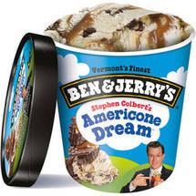 Ben & Jerry's Stephen Colbert's Americone Dream Ice Cream