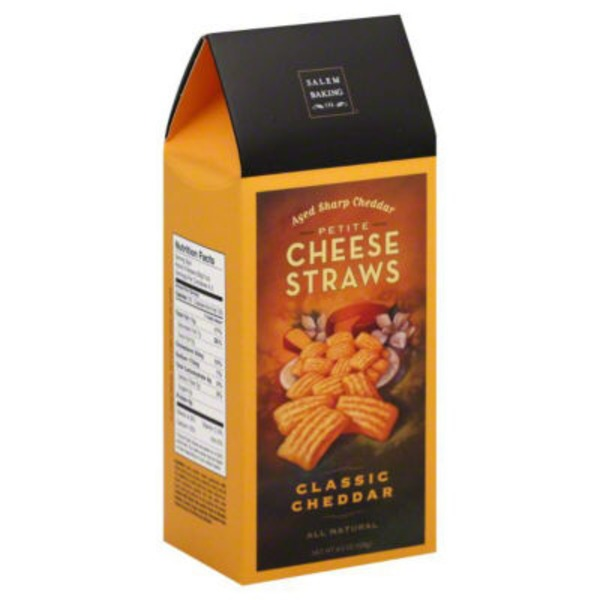 Salem Baking Company Petite Cheese Straws Classic Cheddar