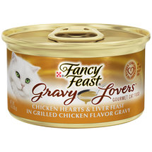 Purina Fancy Feast Gravy Lovers Chicken Hearts and Liver Feast Cat Food
