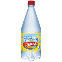 Ozarka Sparkling Lemon Natural Spring Water