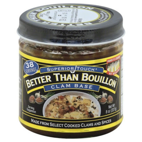 Better Than Bouillon Base, Clam, Jar