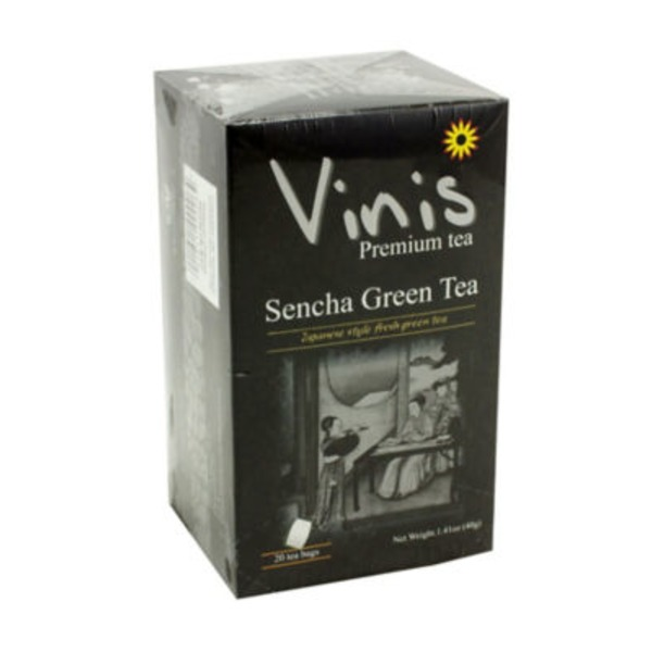 Vinis Sencha Green Tea Bags