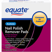 Equate Nail Polish Remover Pads