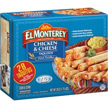El Monterey Chicken & Cheese Taquitos