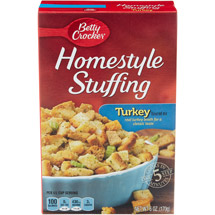 Betty Crocker Homestyle Turkey Flavor Stuffing Mix