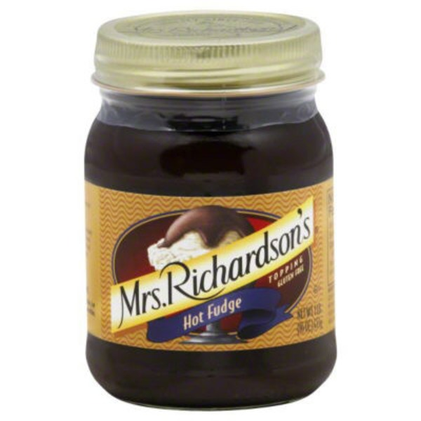 Mrs. Richardson's Hot Fudge Topping