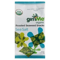 gimMe Organic Sea Salt Roasted Seaweed Snacks