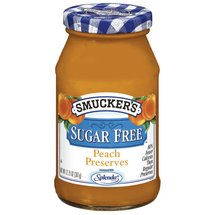 Smucker's Peach Sugar Free Preserves