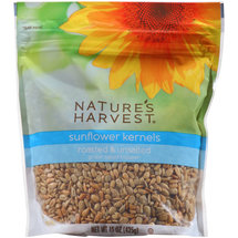 Nature's Harvest Roasted & Unsalted Sunflower Kernels