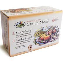 Homestyle Recipes Canine Meals Canned Dog Food Mom's Turkey and Sunday Brunch