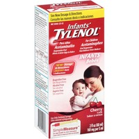Children's Tylenol® Infants' Cherry Oral Suspension Pain Reliever/Fever Reducer