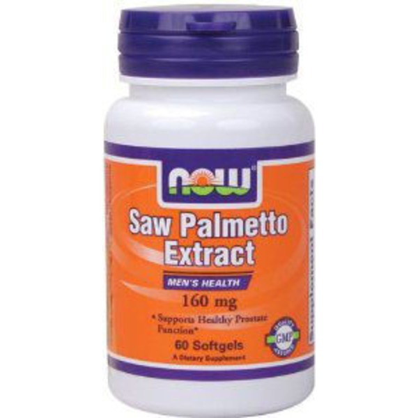 Now Saw Palmetto Extract 160 Mg softgels