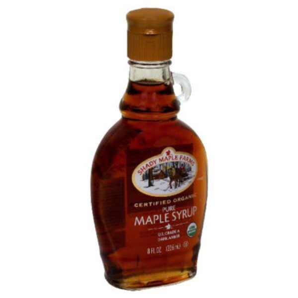 Shady Maple Farm Organic 100% Pure Dark Amber Maple Syrup