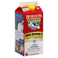Horizon Organic Skim Milk with DHA Omega-3